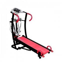 6 Way Manual Treadmill